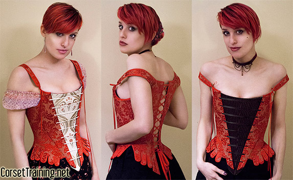 how to make a bodice corset
