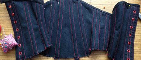 corsetmaking binding