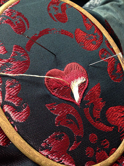 corsetry embroidery