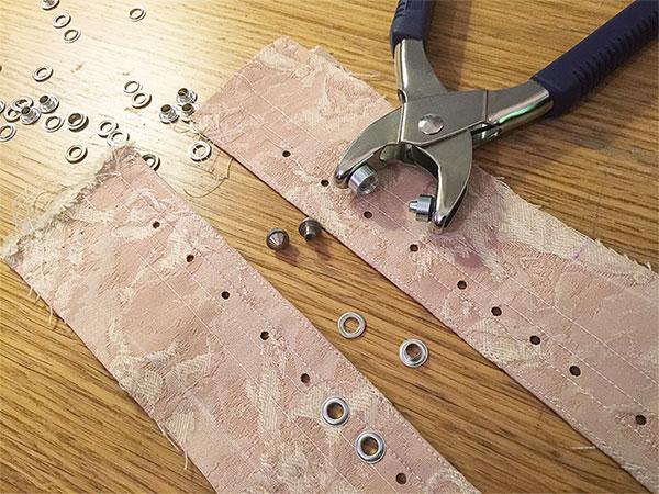 Pink Corset – Part 3 – Pattern Pieces Assemble!