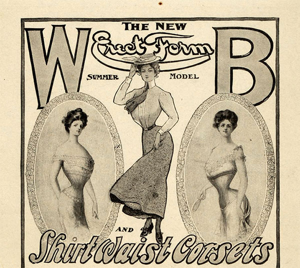 Vintage Corset Adverts – Various Corset Makers 1901 – 1911