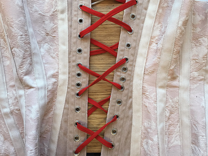 Pink Corset Making – Part 4 – First Fitting