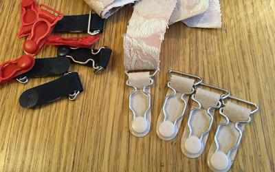 Pink Corset Making – Part 5 – Suspender Attachment Test