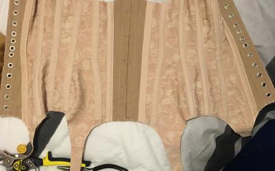 Pink Corset Making – Part 6 – Binding & Done!