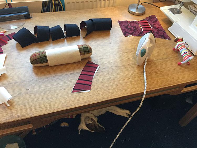 'Roll ironing'