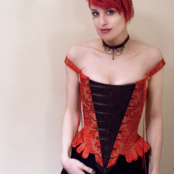 Elizabethan Bodice Course With Reversible Front Panel