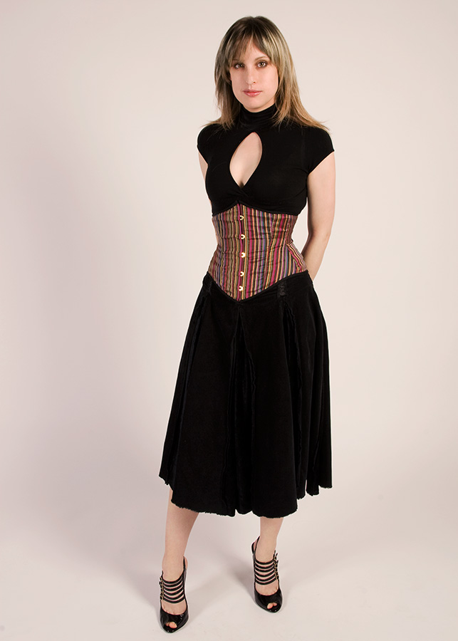 My First Corset At My First Corsetry Photo Shoot