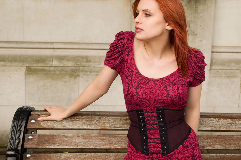 My Early Corset Belt Pattern