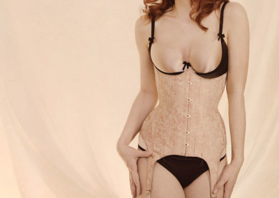 The Harlot Suspender Corset