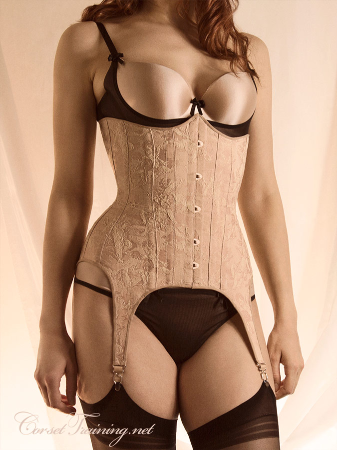 The Harlot Corset Pattern Front