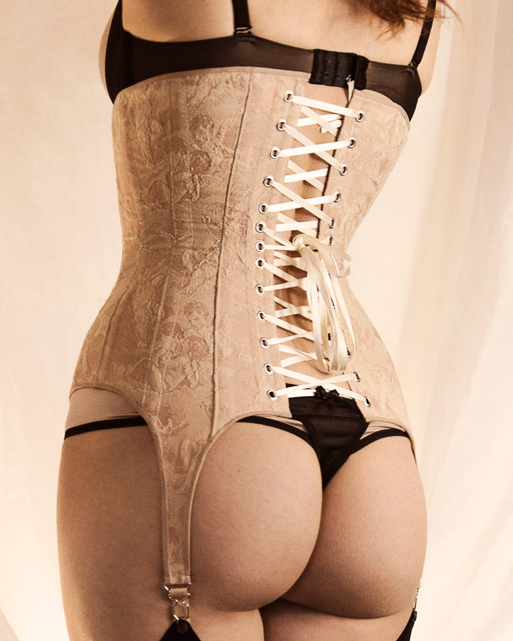 The Harlot Corset Pattern Back