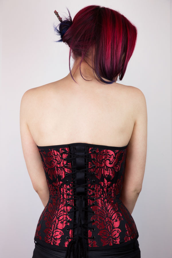 The Plunge Corset Pattern Back