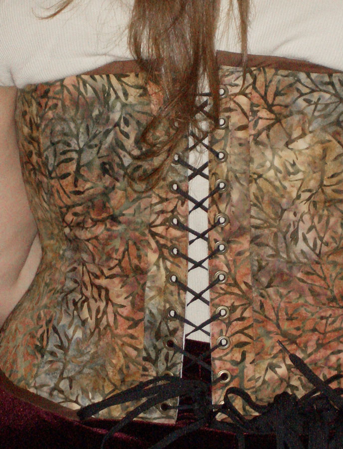 TraceyLea's First Corset Back
