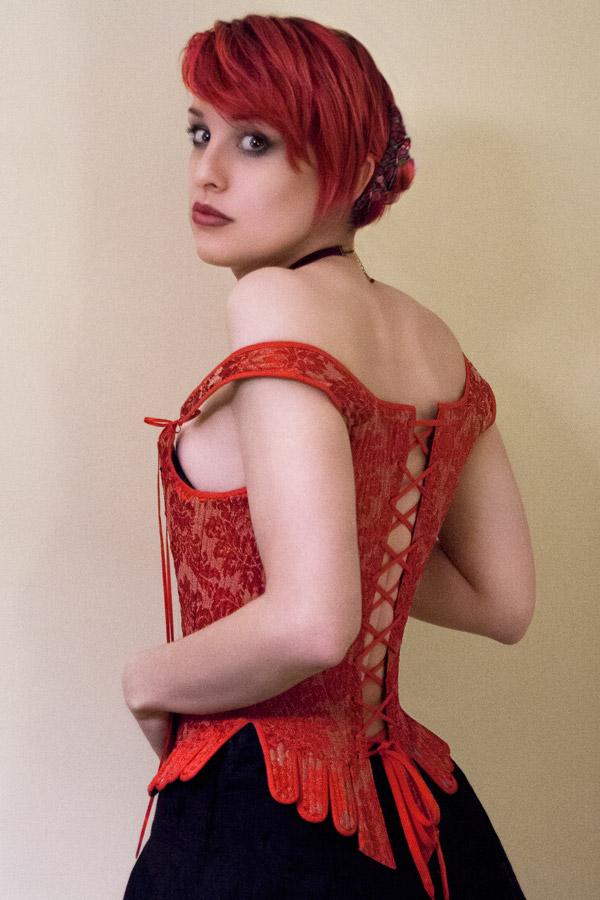 Elizabethan Bodice Corset Back