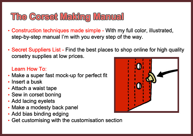 make a corset corset training