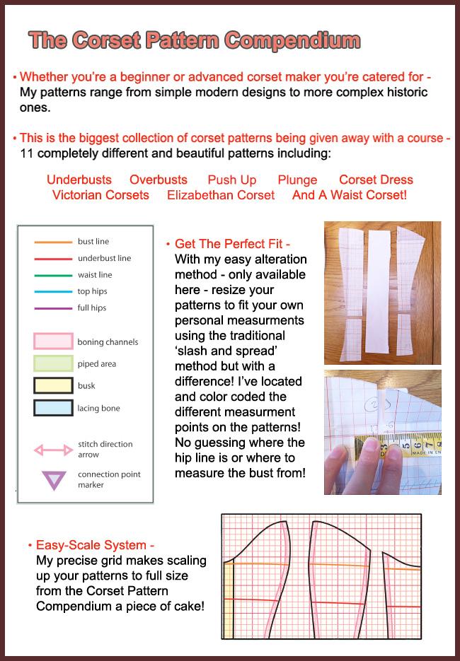 Corset Pattern Compendium