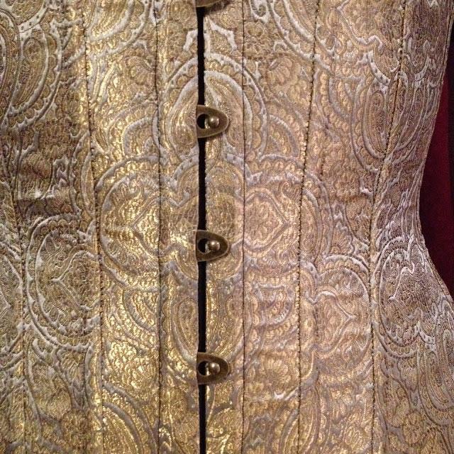 Emerald Erin's Corset October - Corset 4 The Harlot Suspender Corset