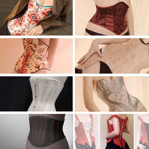 Corset Patterns For Corset Training In