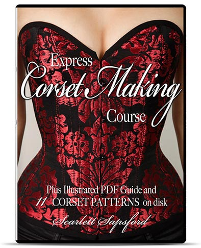 Learn Corset Making In Just 2 Hrs! HALLOWEEN SPECIAL…