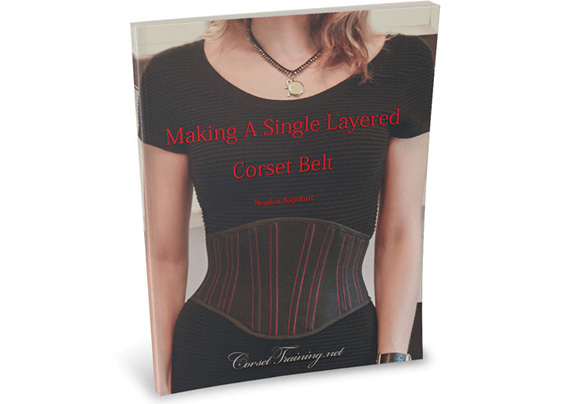 Make A Single Layered Corset Book  – $27