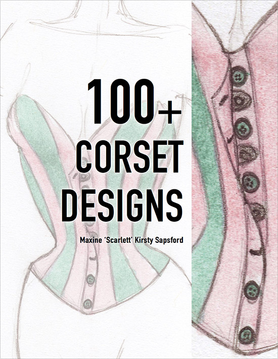 Cover - 100+ Corset Designs Art Book