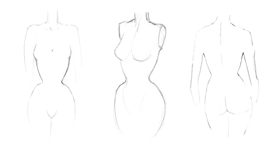 Corseted Mannequin Examples
