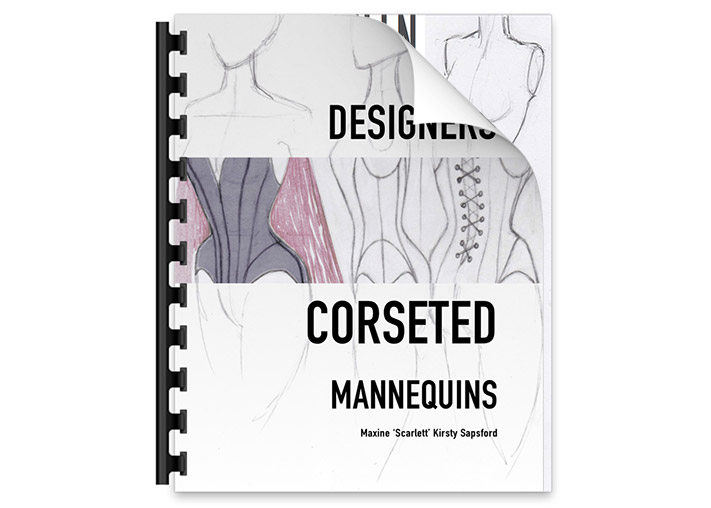 Designers Corseted Mannequins Book  – $27