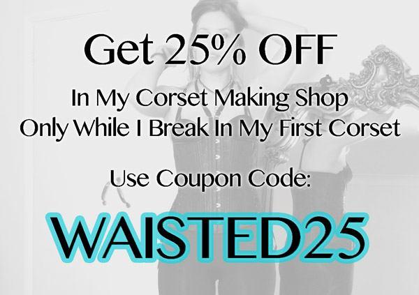 corset shop discount