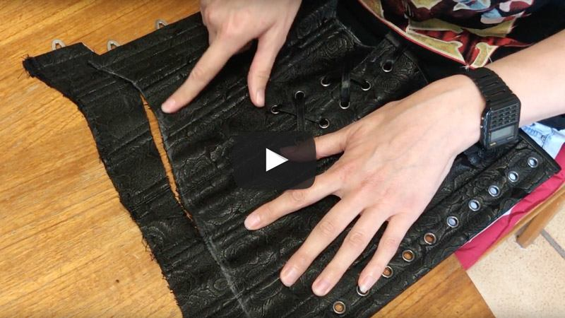 Video 10: How To Alter A Corset Training Corset
