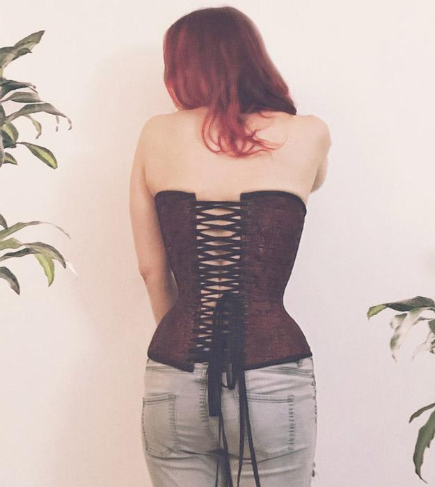 Aphrodite Corset Pattern Back