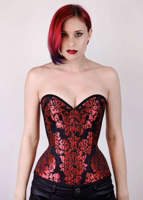 Scarlett Plunge Corset Pattern