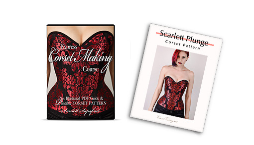 corsetry course + scarlett corsetpattern