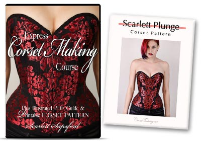 The Express Corset Making Course - Learn How To Make A Corset Training Corset