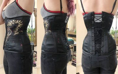 Finished Cricut Corset Pattern (& next project!) – Part 3