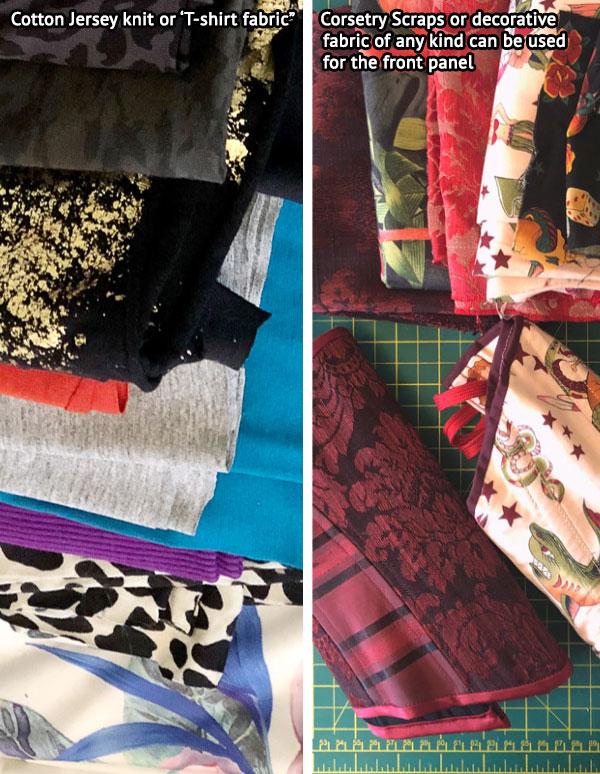 Rita panty pattern Fabric