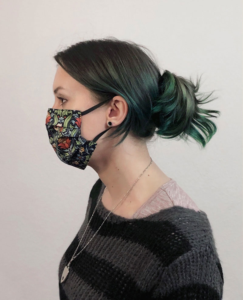 The 'Nurse' style face mask sewing pattern